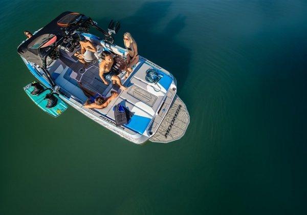 boat resting in water